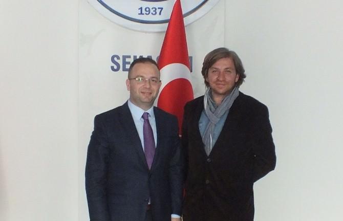 İyk Başkanı Bozdağ, Kağıtspor'u Ziyaret Etti