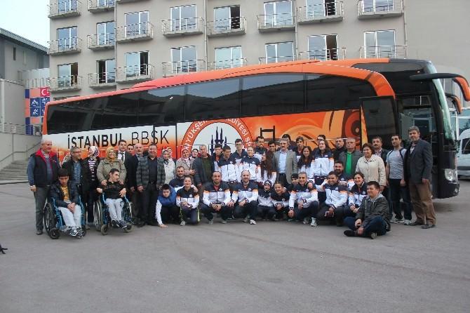 İstanbul Büyükşehir Belediyeli Yüzücüler Yunanistan'da