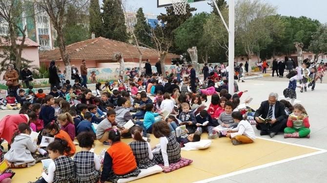 Didim Atatürk İlkokulundan Okuma Etkinliği