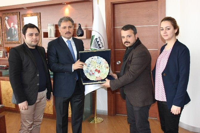 Maksat'tan Başkan Çakır'a Ziyaret