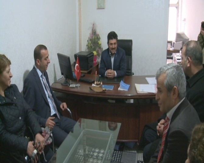 MHP Battalgazi İlçe Başkanı Şahin'den İlçe Esnaf Odasına Ziyaret