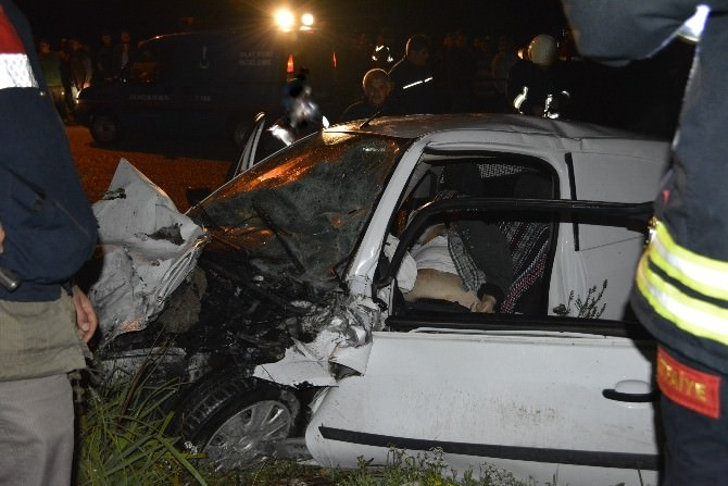 Seydikemer'de Trafik Kazası: 1 Ölü