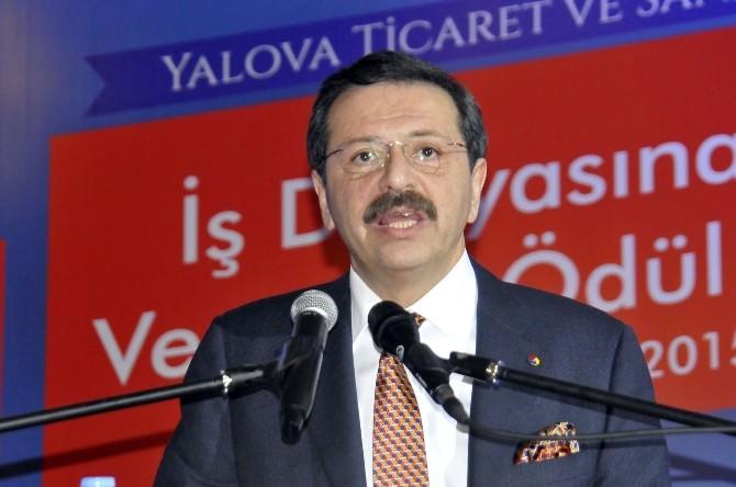 Yalova'da Ekonomiye Yön Verenler Ödül Töreni