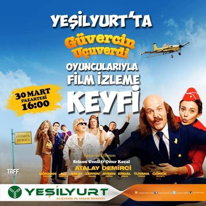 Yeşilyurt AVM'de 'Güvercin Uçuverdi' Film Galası