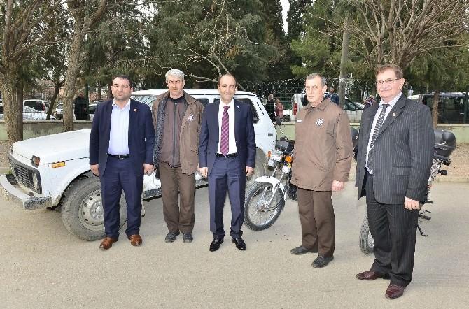 Başkan Edebali'den Tarım Bekçilerine Destek