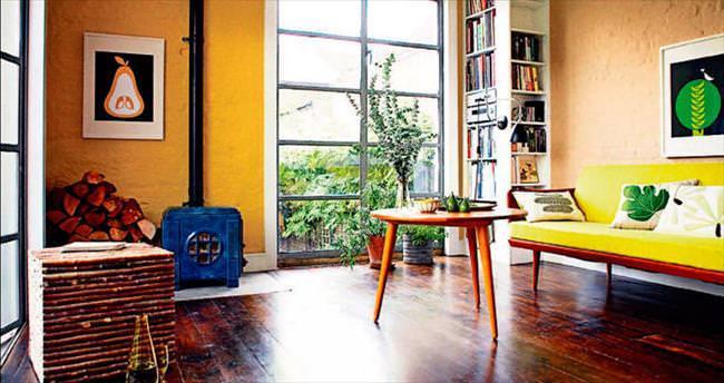 Sarı sizi ve evinizi sarıp sarmalasın