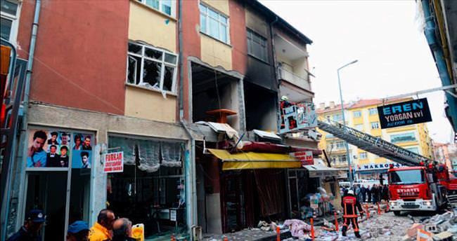 Polatlı'da doğalgaz patladı: 5 yaralı