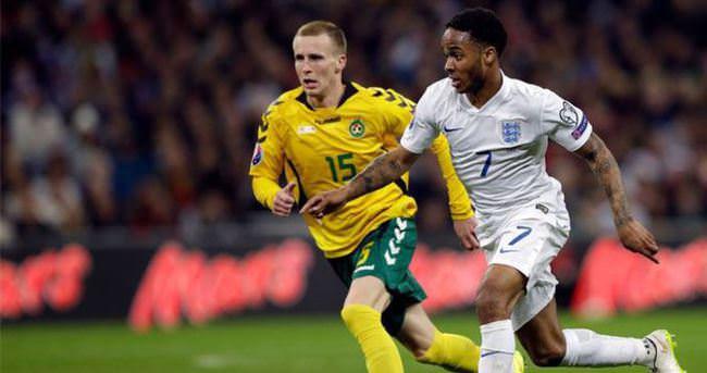 İngiltere—Litvanya maçı özeti ve golleri (Litvanya, İngiltere'ye boyun eğdi)
