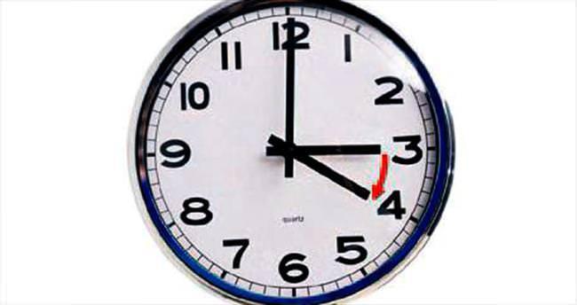 Saatleri ileri almayı unutmayın