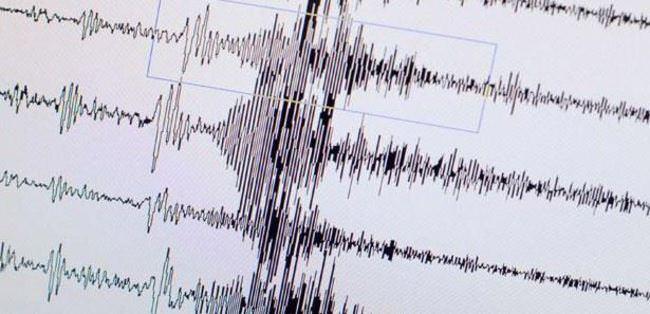 Oniki Adalar açıklarında deprem
