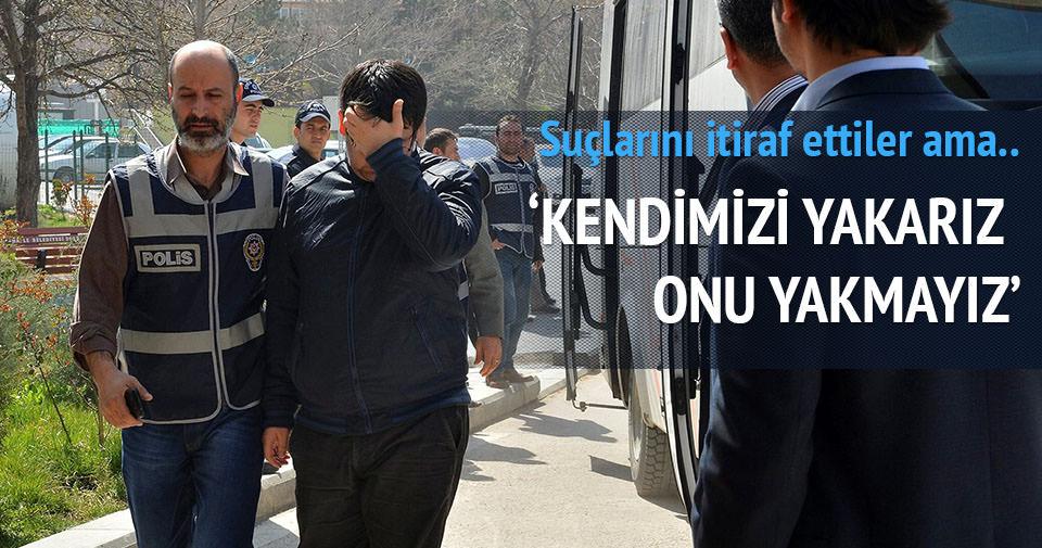 Kopya tutukluları: 'Hocaefendi'yi yakmayacağız'