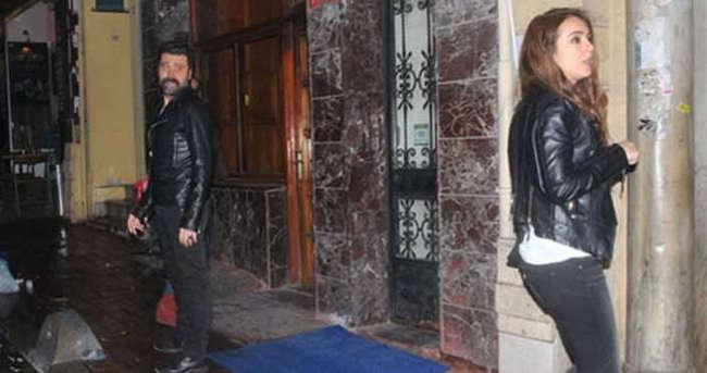 Bülent Parlak yeni sevgilisiyle yakalandı