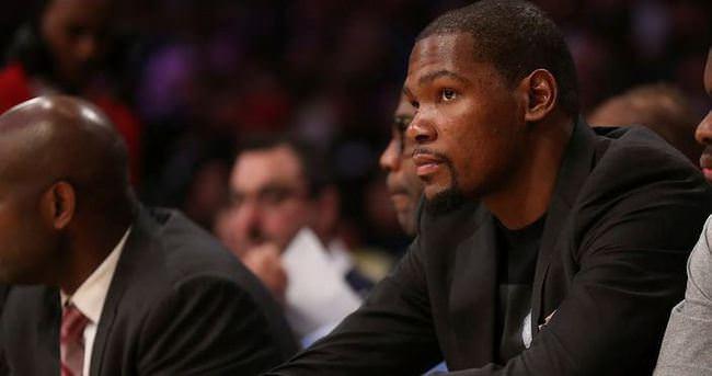 Kevin Durant sezonu kapattı