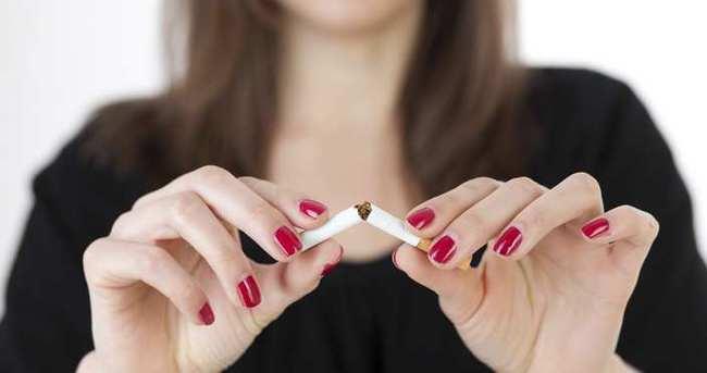 100 kişiden 7'si sigarayı bıraktı