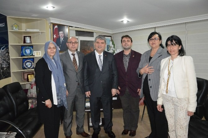 Torun'dan AK Parti Mudanya'ya Ziyaret