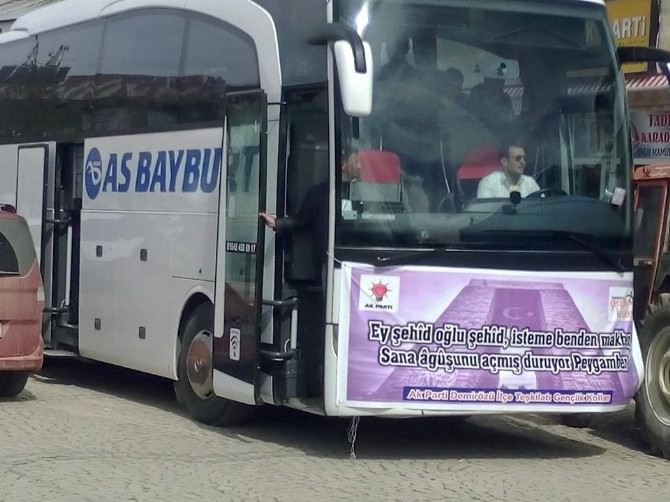 AK Parti Demirözü Teşkilatından Gençlere Çanakkale Gezisi