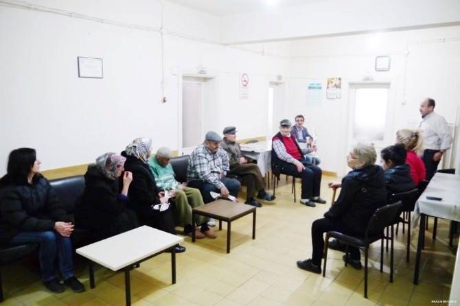 Bozüyük Engelliler Derneği'nden Belediye Acezeevi'ne Ziyaret