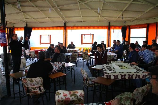 Denizli'de Kentli Davranışlar Projesi Kahvehanelerde Anlatılıyor