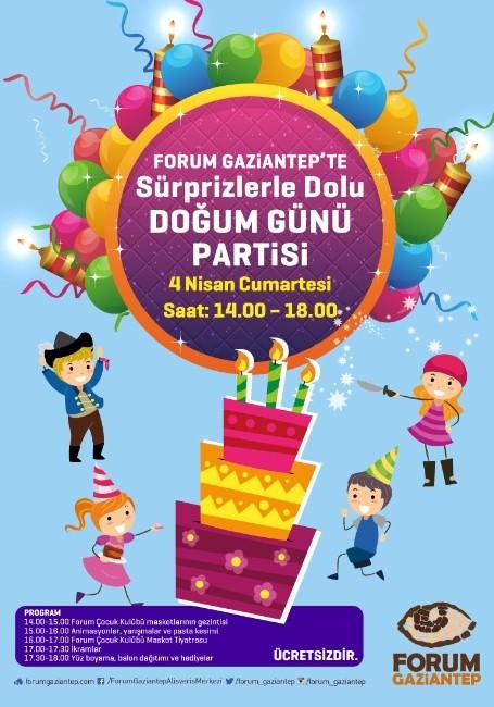Doğum Günü Mumlarını Üflemek İçin Haydi Forum Gaziantep'e