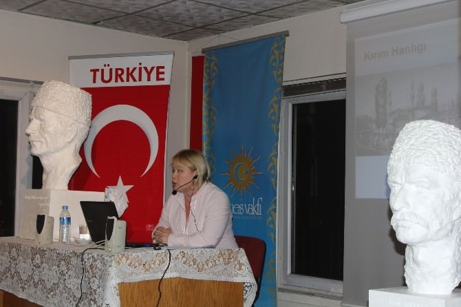 Doç.dr. Ranetta Gaffarova, Kırım Türklerinin Dününü Ve Bugünü Anlattı