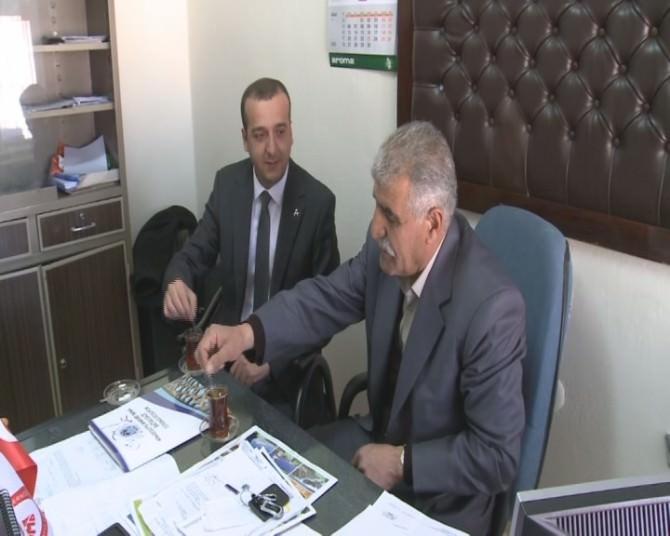 MHP Battalgazi Teşkilatından Orduzu Muhtarına Ziyaret