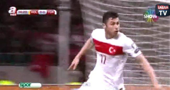 Hollanda: 1 - Türkiye: 1 (Özet)
