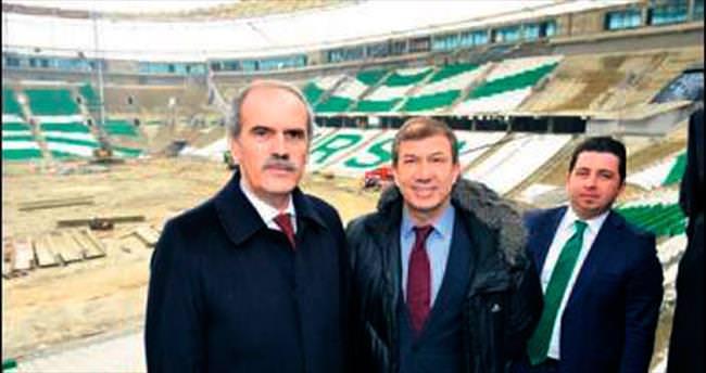 Tanju Çolak Timsah Arena'ya hayran kaldı
