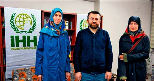 El Kaide'nin kaçırdığı Çek kadınları İHH kurtardı