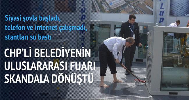 CHP'li belediyenin uluslararası fuarı skandala dönüştü