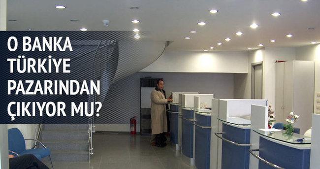 O banka Türkiye'den çıkıyor mu?