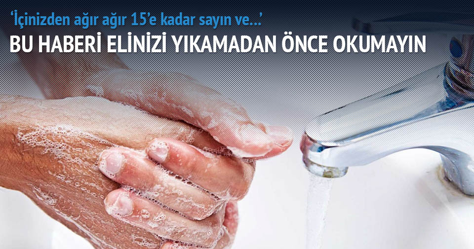 Doğru el yıkamanın 4 kuralı
