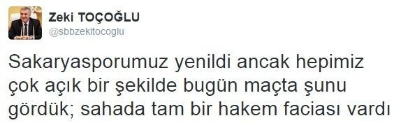 """Başkan Toçoğlu: """"Sahada Tam Bir Hakem Faciası Vardı"""""""