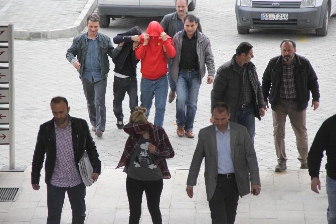 6 Evden Hırsızlık Yapan 4 Kişi Tutuklandı