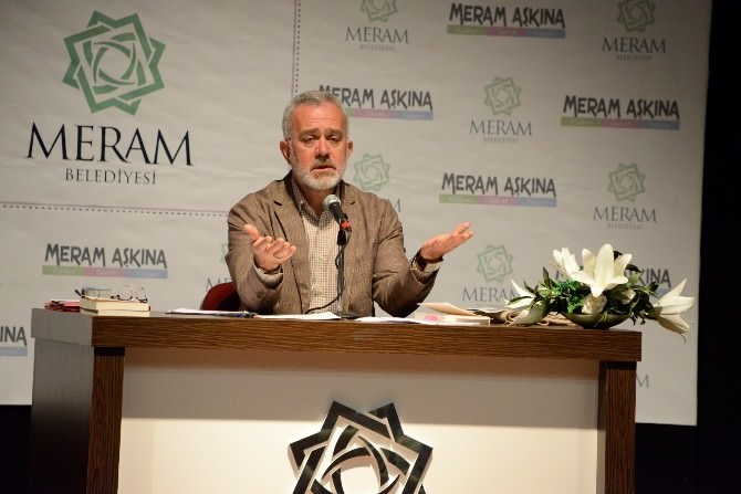 Meram'da Yazar Yenişehirlioğlu'ndan Konferans