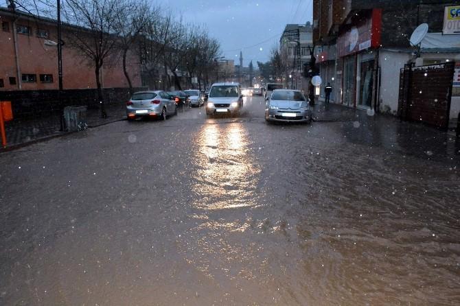 Siverek'te Yoğun Yağış