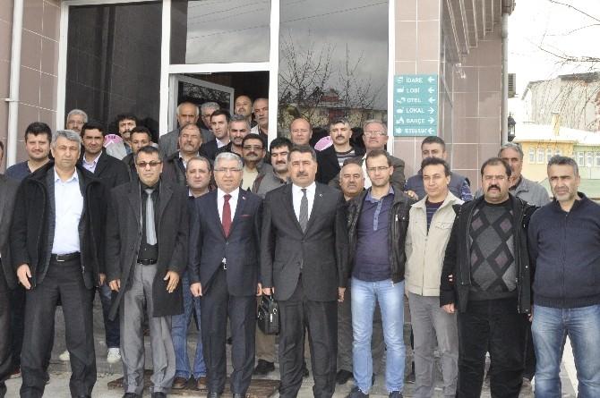 Türk Eğitim-sen'den Afşin'de İstişare Toplantısı
