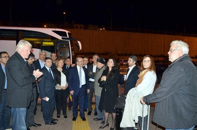 Dortmund Heyeti Trabzon'a Geldi