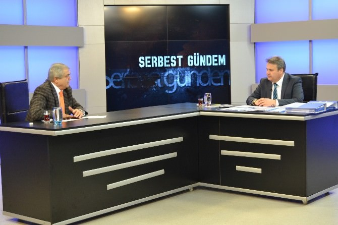 Başkan Çerçi Canlı Yayında Konuştu: