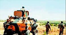 Resmi araçla PKK'ya giden 10 kişi yakalandı)