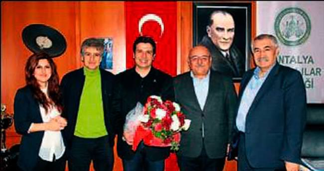 Konyalılar bu kez Genç'i ağırladı