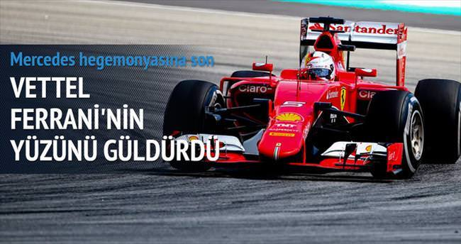 Vettel ezber bozdu