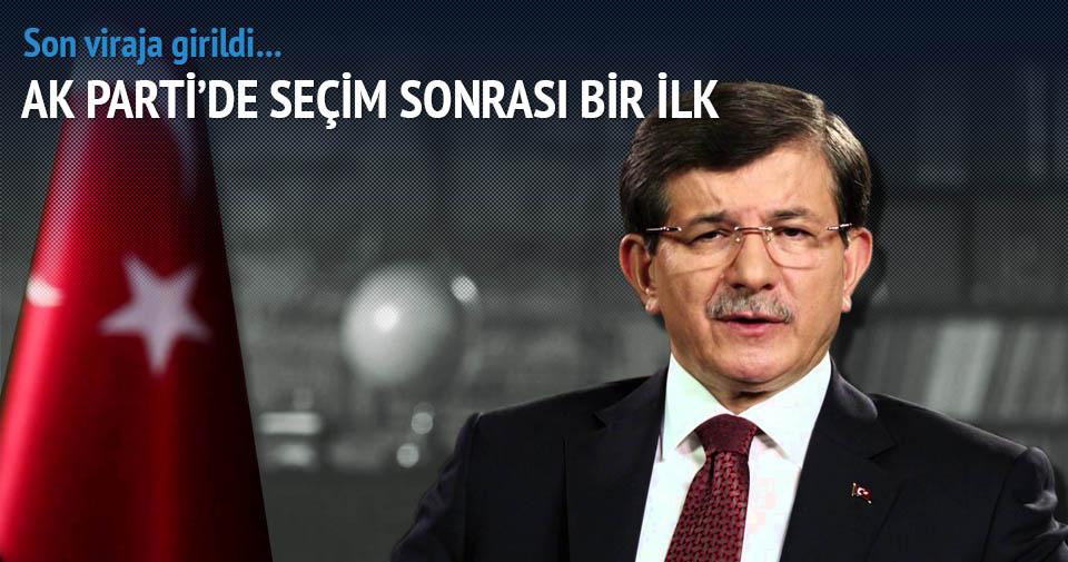 Davutoğlu'nun liste mesaisi sabaha kadar sürdü