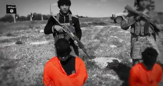 IŞİD'in çocuk cellatları kamera karşısında