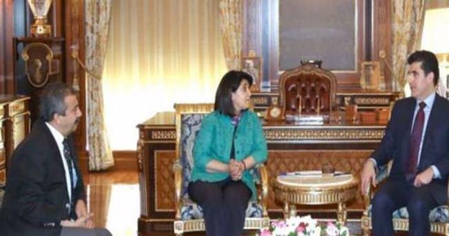 HDP heyeti Barzani ile görüştü!