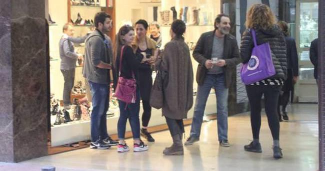 Ünlü isimler Ozan Güven'in dükkanını ziyaret etti
