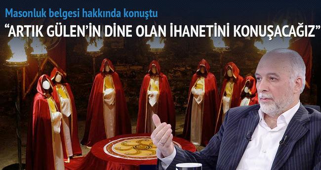 Gülen'in masonluğu hakkında Latif Erdoğan'dan ilk yorum