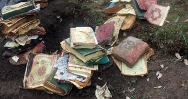 Toprağa gömülü 50 Kuran-ı Kerim bulundu