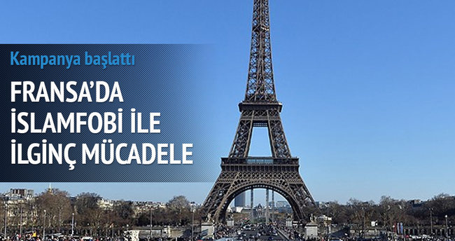 Fransa'da İslamofobi ile ilginç mücadele