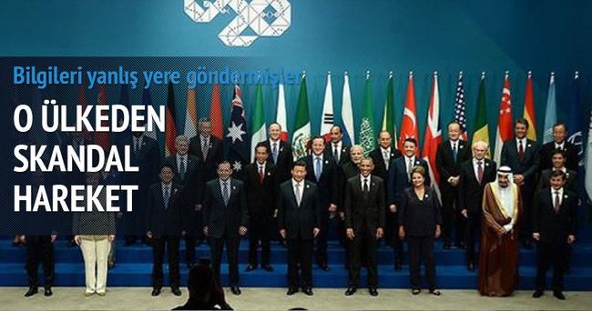 Dünya liderlerinin bilgilerini yanlış yere göndermişler