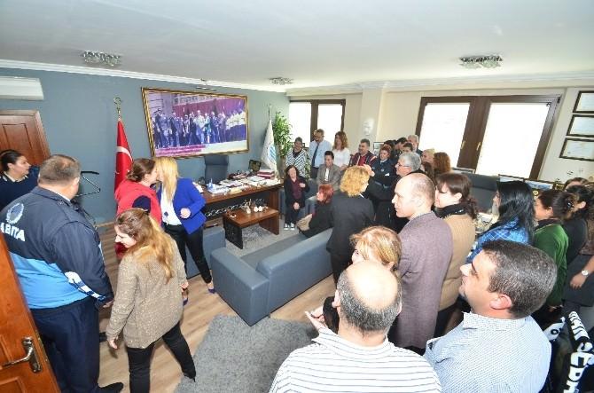 Başkan Gökhan Demirağ'a Sürpriz Kutlama